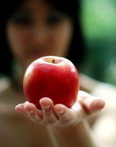 Сексуальный приворот на яблоко