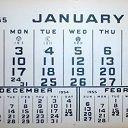 Календарь для сонника